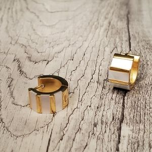 Gold stainless steel earrings